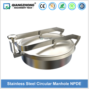 Stainless Steel Circular Manhole NPDE