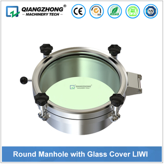 Round Manhole with Glass Cover LIWI