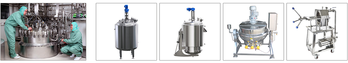 Pharmaceutical production equipment