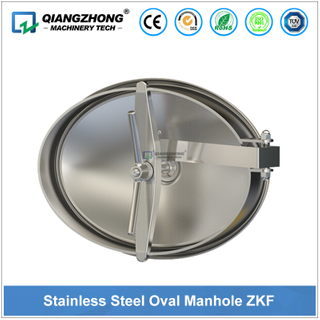 Stainless Steel Oval Manhole ZKF