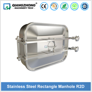 Stainless Steel Rectangular Manhole